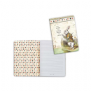 Stamperia - Lined Notebook A6 - White Rabbit